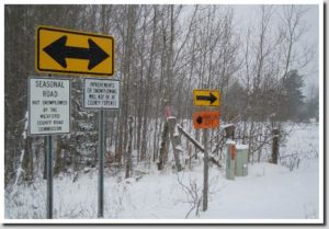 Go About 8 Mile Watch For The Signs On Left Once Your Turn Down Seasonal Road Lot Following Pictures Should Help